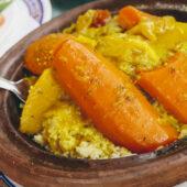 Comida vegana Marruecos
