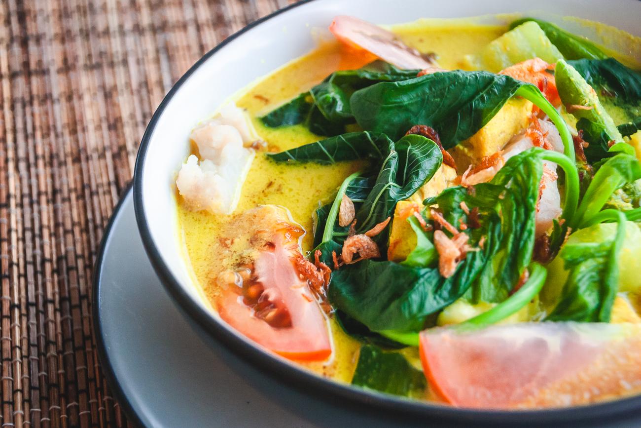 Curry vegano tailandés