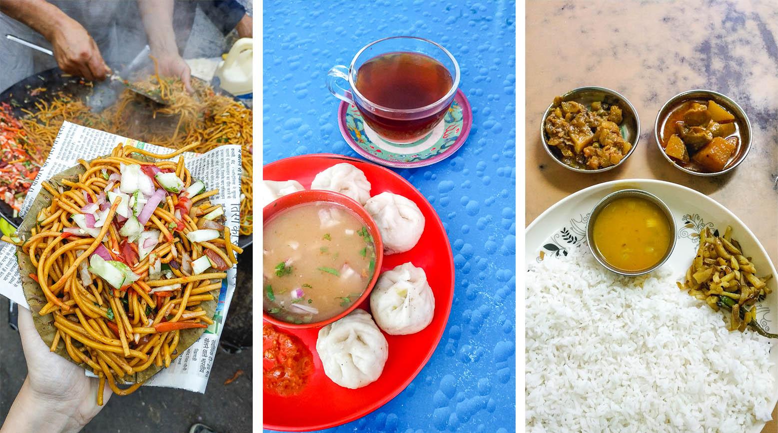 Pot poti de sabores indios y bengalís