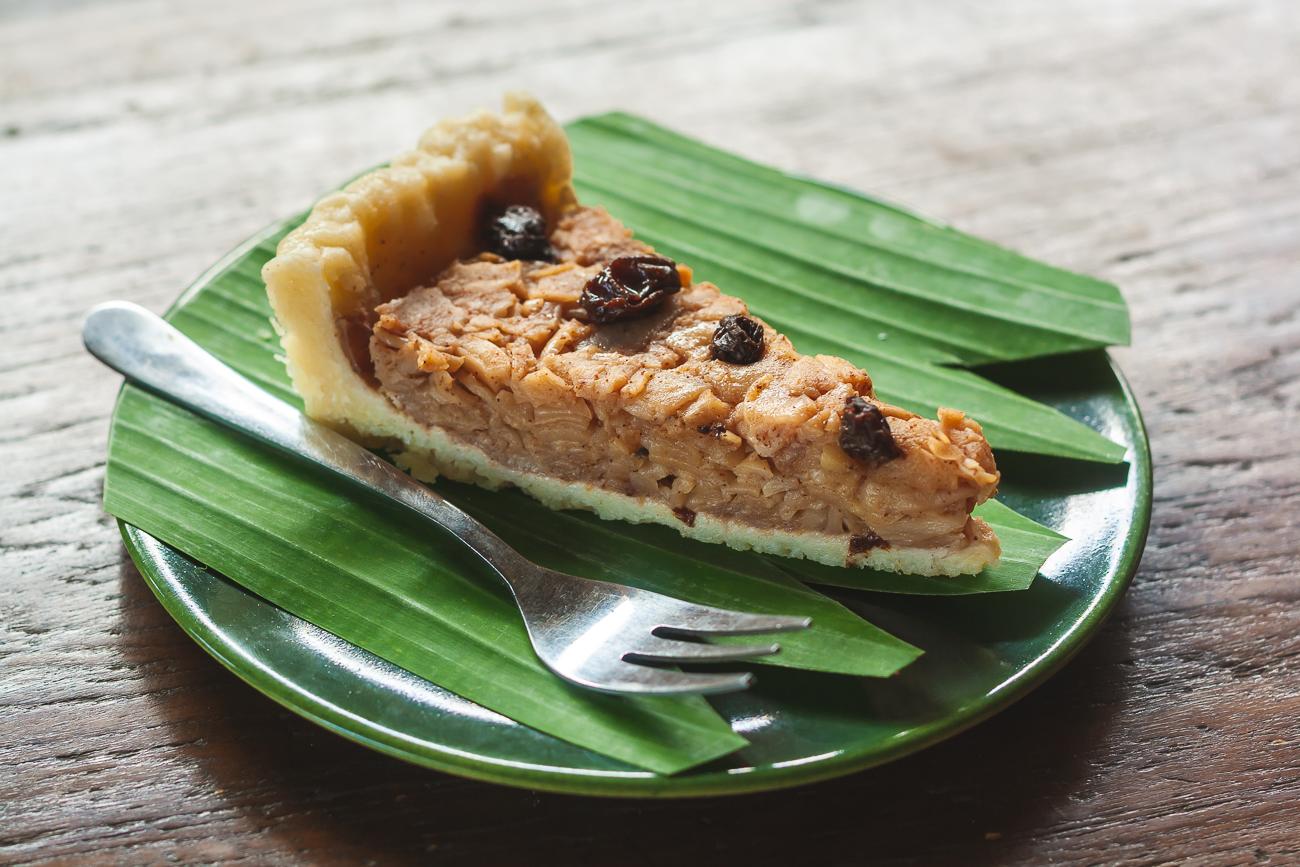 Tarta dulce de snake fruit