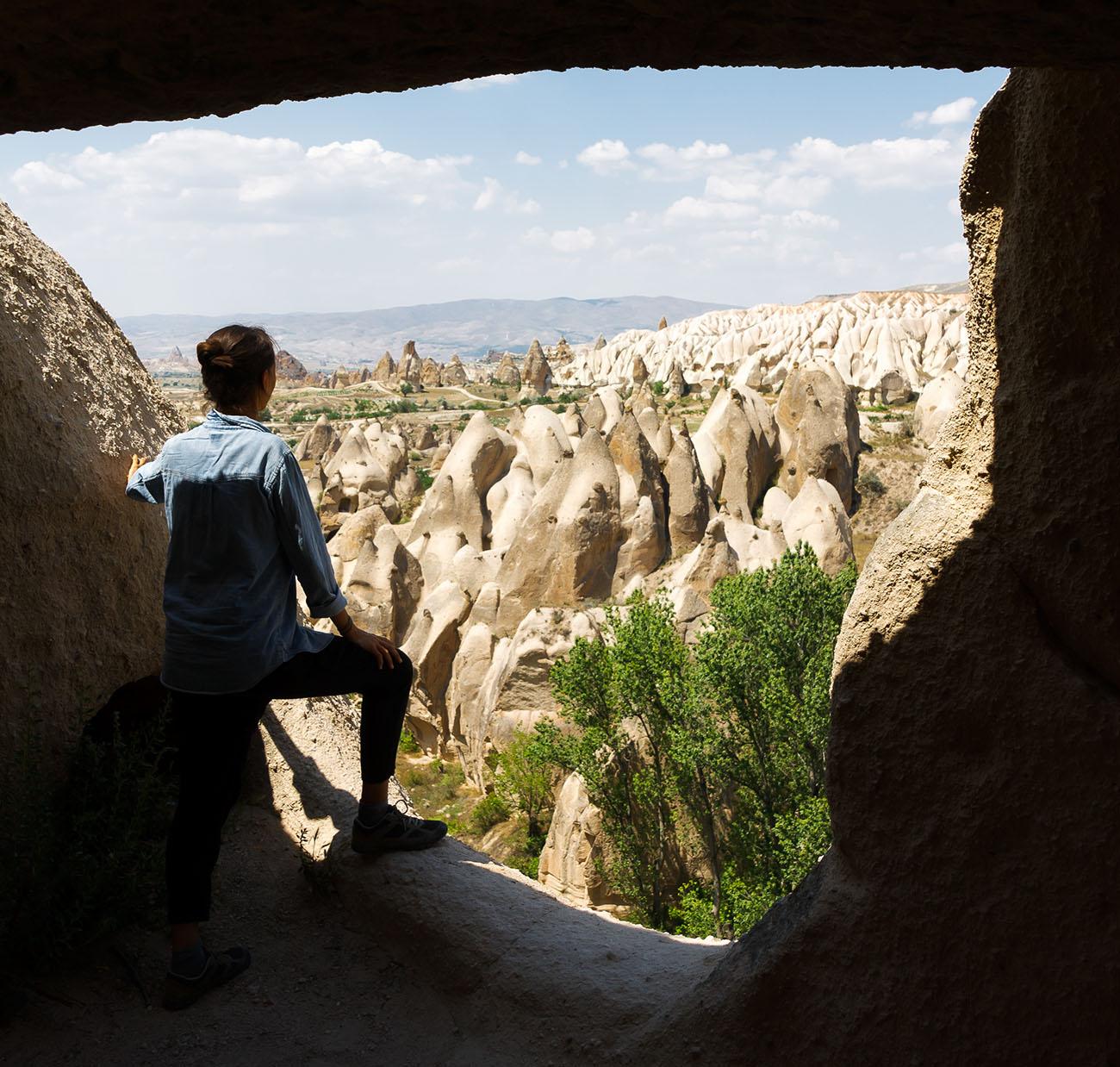 Vistas en Capadocia, Turquía